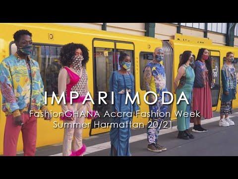 Impari Moda (Germany) - @Accra Fashion Week 2020/21 Summer Harmattan