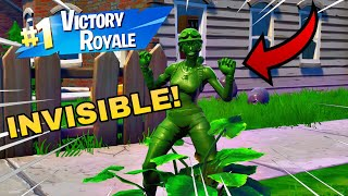 IM INVISIBLE! INVISIBLE CAMOUFLAGE SKIN! BEST CAMOUFLAGE SKIN IN FORTNITE BATTLE ROYALE!? (FUNNY)