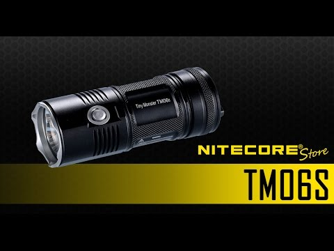 NItecore Tiny Monster TM26 Quadray 3500 Lumen Flashligh ...