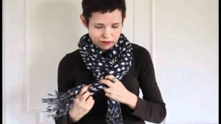 My Secret Source for Parisian Scarves & 12 Ways to Tie Them