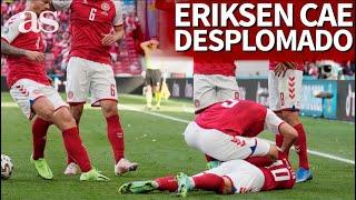 EURO 2020 | ERIKSEN cae desplomado durante el DINAMARCA-FINLANDIA | Diario AS