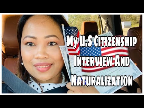 MY US CITIZENSHIP INTERVIEW + OATH CEREMONY EXPERIENCE