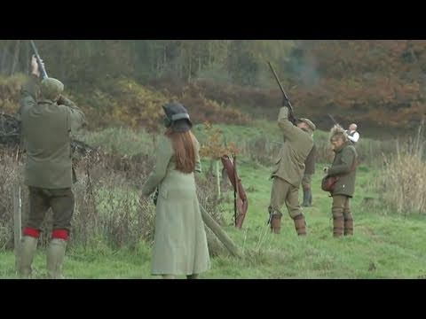 Fieldsports Britain - Shooting pheasants, partridges and grouse at Ripley Castle