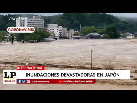Inundaciones devastadoras en Japón...