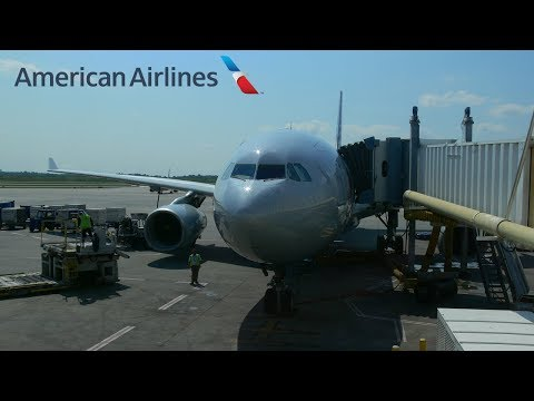 American Airlines Full Flight |Charlotte - Frankfurt | Airbus A330-200