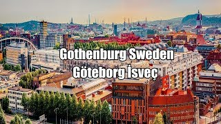 Travel Vlog; GÖTEBORG İsveç, Gothenburg Sweden Travel Guide