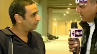 سمير عثمان يعقد جلسة مع حسام غالي قبل موقعة المقاصة