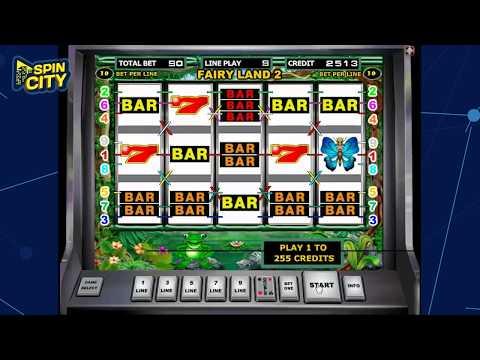 Spin City - Игровой автомат Fairy Land (Лягушки)