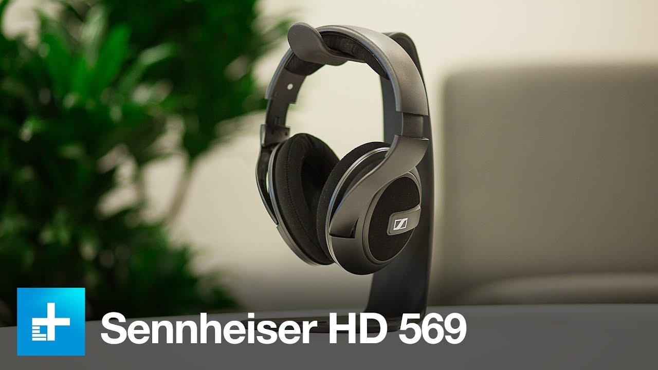 9d862e2efa7 Sennheiser HD 569 Headphones - Hands On Review - YouTube