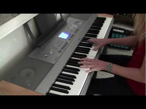 A-ha 'Take On Me' piano cover (Dawnie)