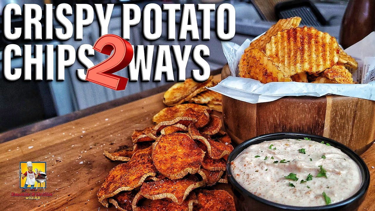 Crispy Potato Chips 2 Ways