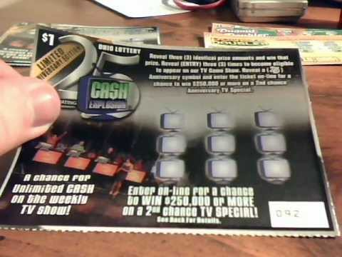 Ohio Lottery Cash Explosion 25th Anniversary Drawing