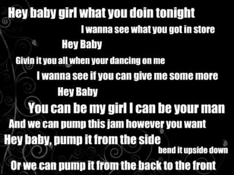 Exceptional (Lyrics) Pitbull   Hey Baby (Drop It To The Floor) Ft. T Pain