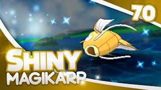 pokemon oras shiny hunting 70 fish chain of 18 shiny magikarp