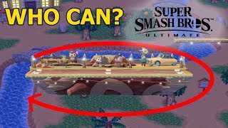 Who Can Go Around Smashville? - Super Smash Bros. Ultimate