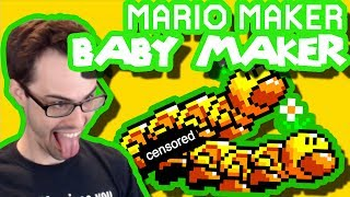 Mario Maker - Hello! Baby ;) (Hardest I've Ever Laughed In Mario Maker)   Cool Levels #17