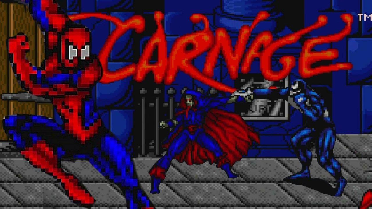 Spider Man And Venom Maximum Carnage Snes Playthrough Longplay