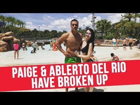 Paige & Alberto Del Rio Have Broken Up