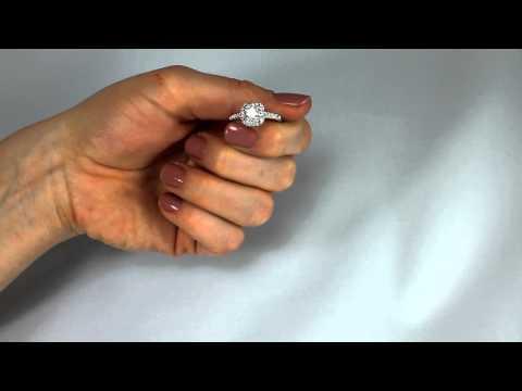 Princess Cut Swarovski Crystal Ring