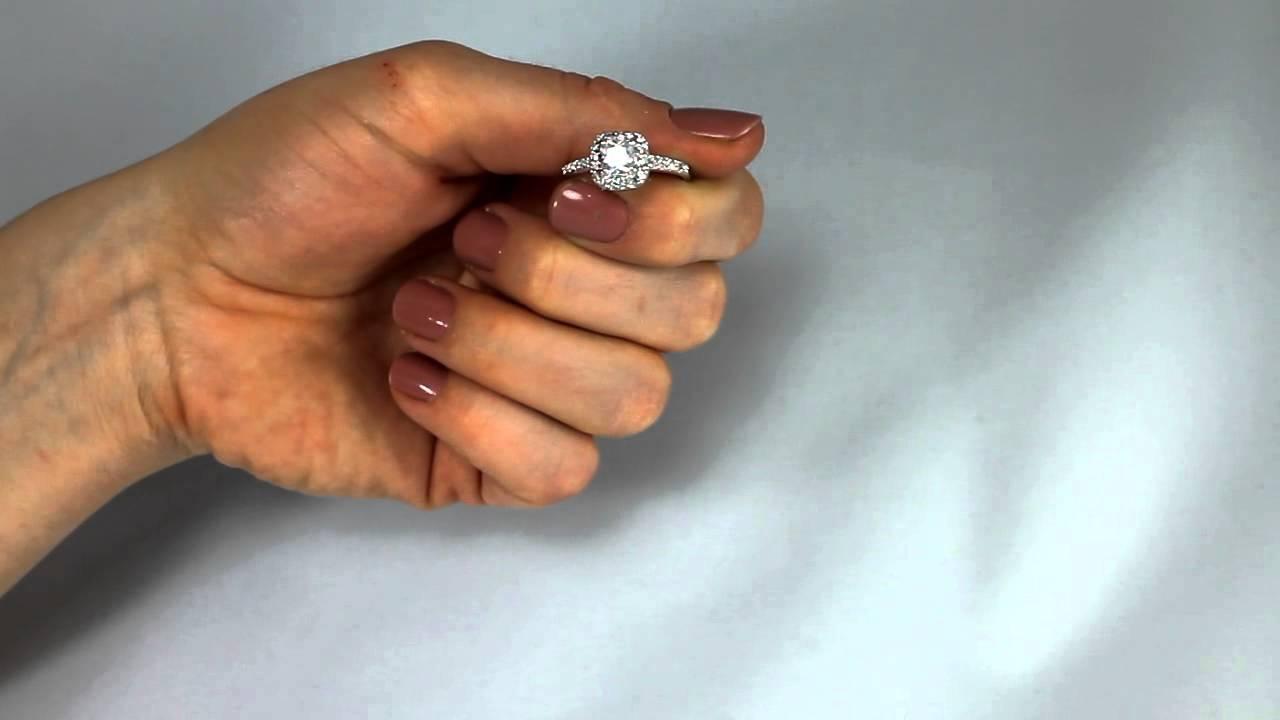 Princess Cut Swarovski Crystal Ring - YouTube fb91a3adc3ea