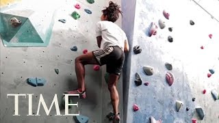 How To Get The Ultimate Full Body Workout From Rock Climbing & Engage All Your Muscles | TIME