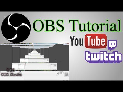 OBS Tutorial: Open Broadcaster Software - Screencast/Video Screen Capture (OBS Studio/Multiplatform)