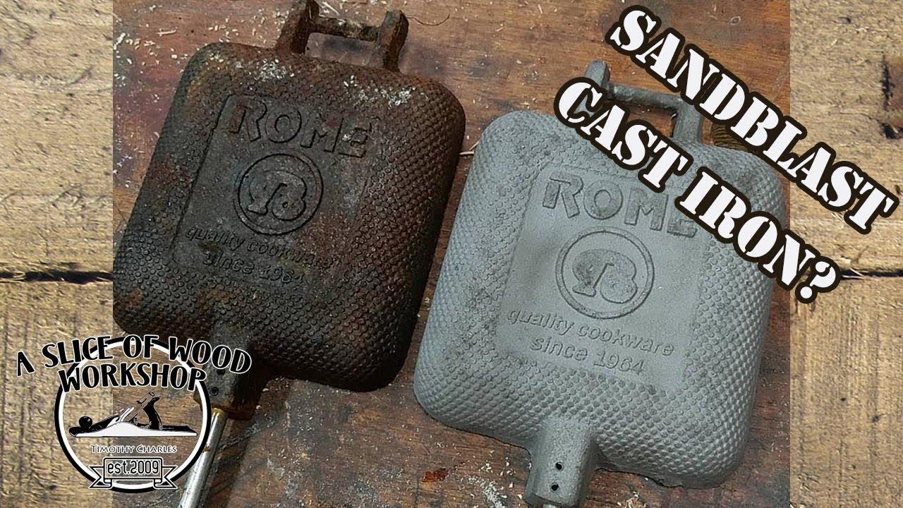 Can You Sandblast Cast Iron Youtube