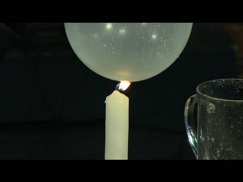 Fire Water Balloon - Cool Science Experiment
