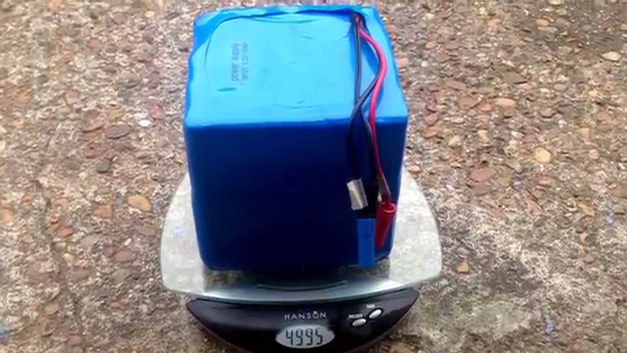Electric Bike Battery 48v 20ah Lithium Ion Youtube