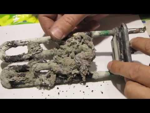 Как очистить ТЭН от накипи в стиральной машине