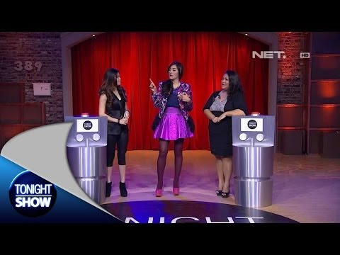 Tonight Show-Seleb Challenge Irena Bexxa vs Tike