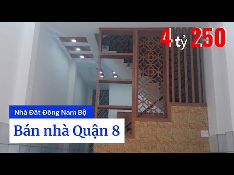 Bán nhà đường Phạm Thế Hiển phường 7 Quận 8 dưới 5 tỷ, gần ngay chợ Phú Lợi