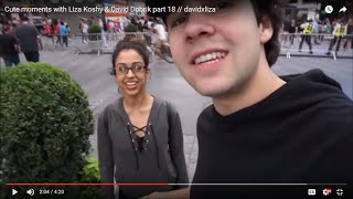 Cute moments with Liza Koshy & David Dobrik part 18 // davidxliza
