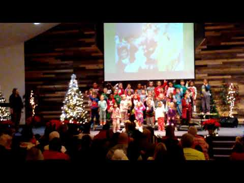New Beginnings Christian School Christmas Program K-2nd Grades 2018
