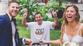 Adam Sandler Crashes Couple's Wedding Photo Shoot in Montreal