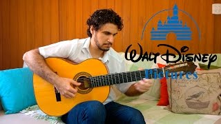 When You Wish upon a Star (Disney Pinocchio Theme) - Fingerstyle Guitar (Marcos Kaiser) #75