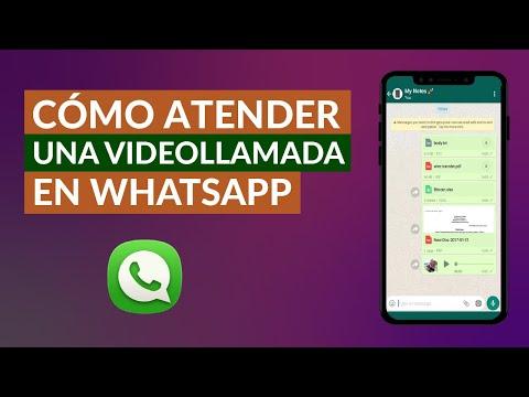 Cómo Coger una Videollamada en WhatsApp