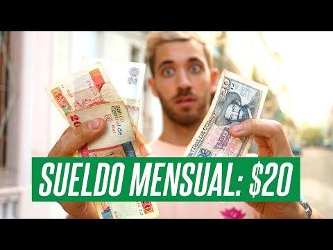 EL DINERO EN CUBA | VIVIR CON UN SUELDO DE $20