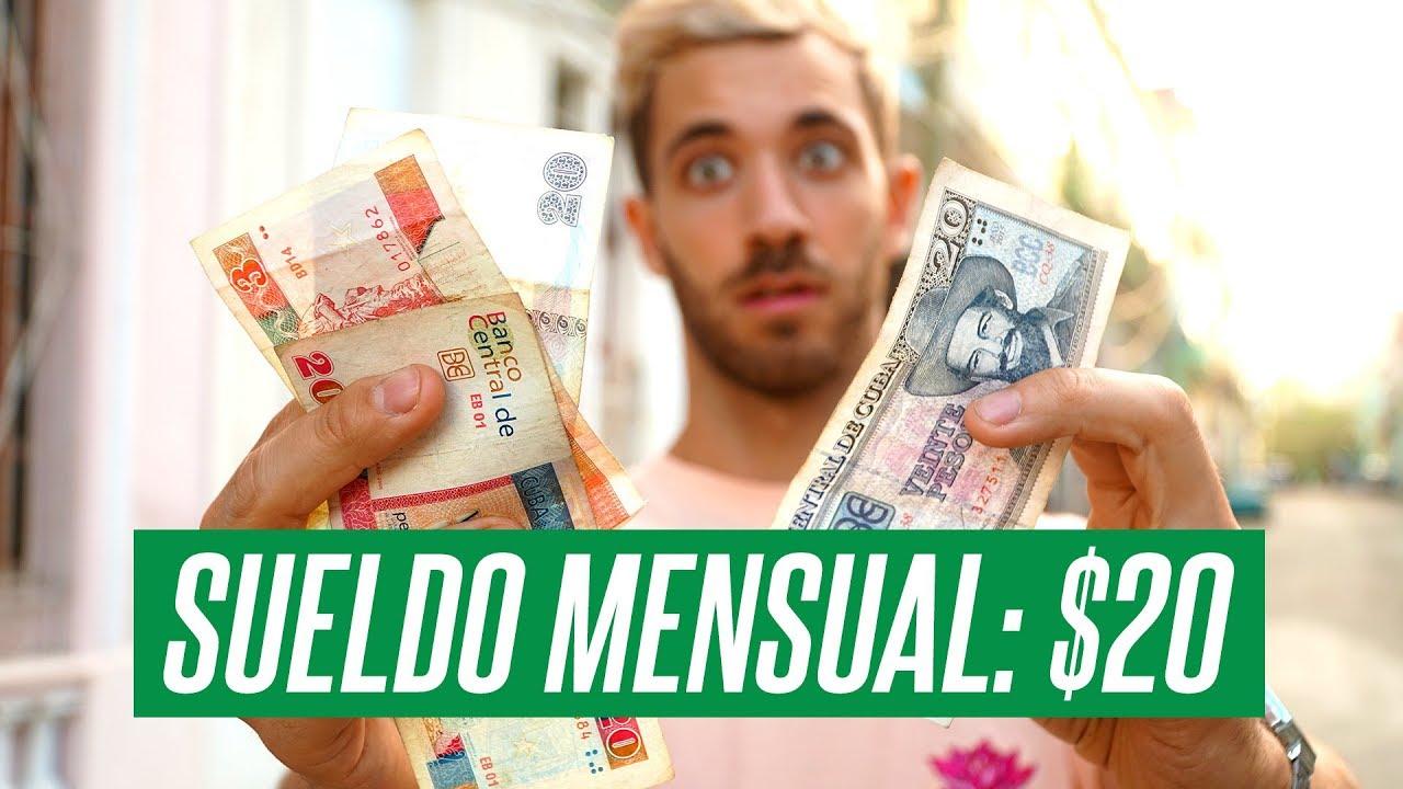 El Dinero En Cuba Vivir Con Un Sueldo De 20