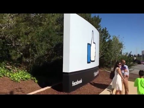 Facebook Headquarters Sign / Sun Microsystems logo