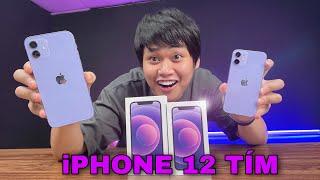 UNBOX & TRÊN TAY iPHONE 12 MÀU TÍM MỚI: GIÁ 22 TRIỆU...