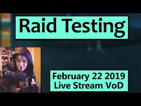Raid Testing Crucible of Storms - February 22 Live Stream VoD Mp3