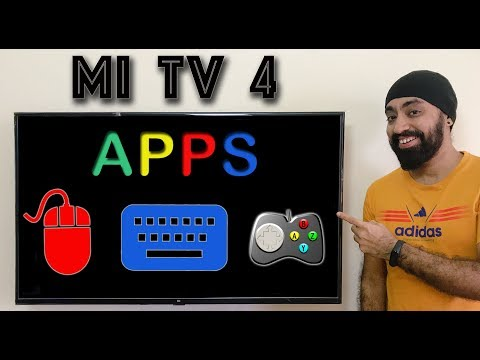 Use Mobile Apps as Air Mouse, Keyboard & Gamepad on Mi TV 4