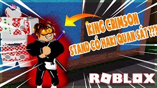 ROBLOX (JoJo Blox) REVIEW KING CRIMSON STAND WITH EXTREME OBSERVATION HAKI