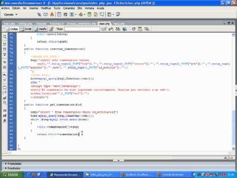 VideoTutorial 13 del Curso de PHP POO