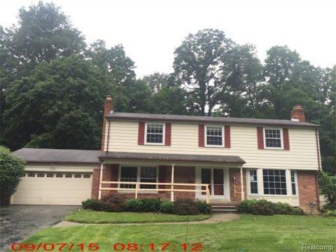 Farmington Hills Michigan Home For Sale, Farmington Hills House Values, Westmeath St
