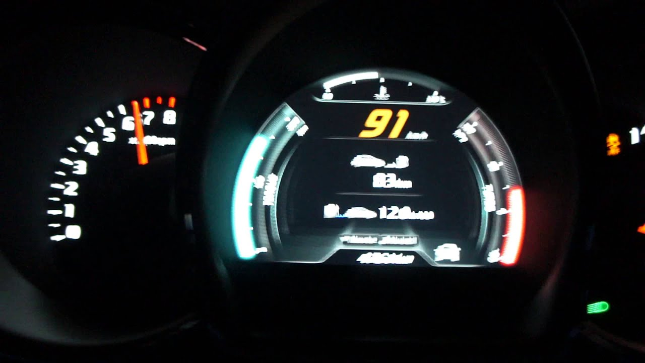 Brilliant Kia Pro Ceed GT 2013 0100 Acceleration Chipped 243HK