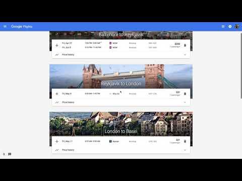 Europe Trip - $320 Three Different Countries - Iceland, UK, & Switzerland