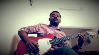 Tharapadham Chethoharam|Guitar| Abraham|Anaswaram|Karaoke|