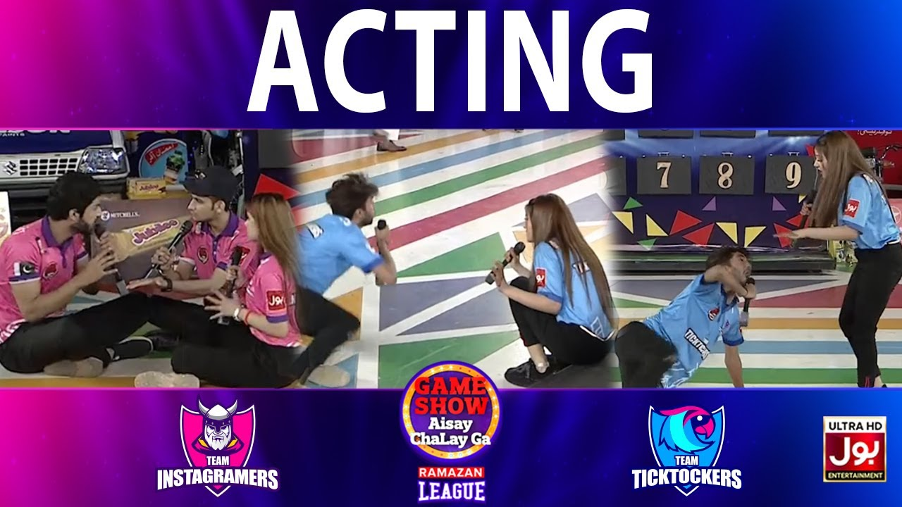 Download Acting   Game Show Aisay Chalay Ga Ramazan League   3rd Eliminator   Tick Tockers Vs Instagramers